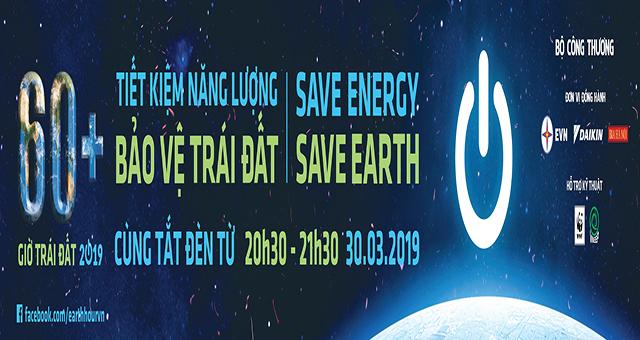 Hưởng ứng giờ trái đất 2019