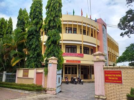 Đoàn Giám sát của Tỉnh ủy làm việc với Sở Công Thương việc thực hiện cải cách hành chính tại đơn vị.