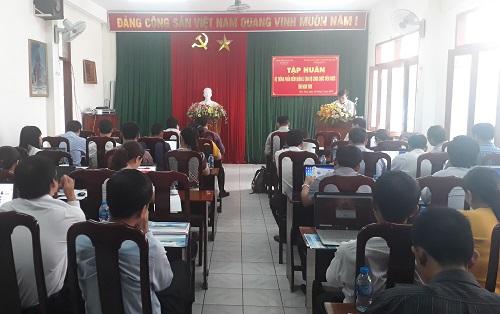 Sở Công Thương tham gia tập huấn Hệ thống phần mềm quản lý cán bộ, công chức viên chức tỉnh Kon Tum.